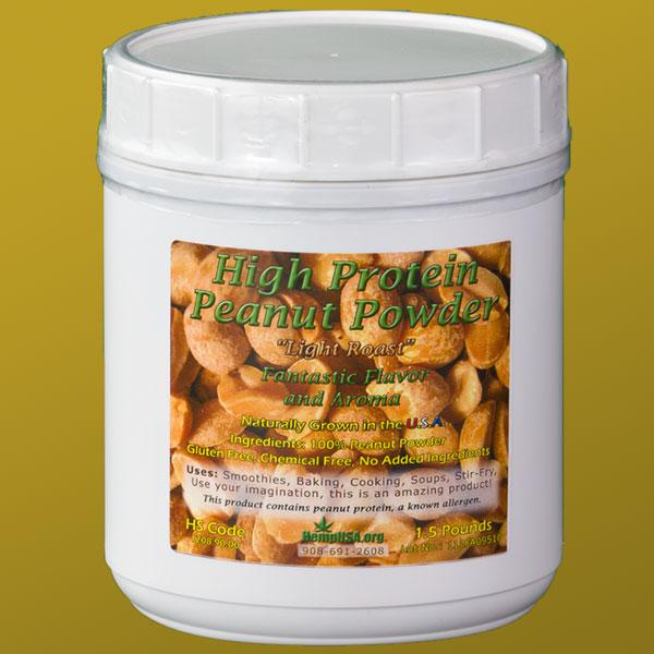 High Protein Peanut Powder